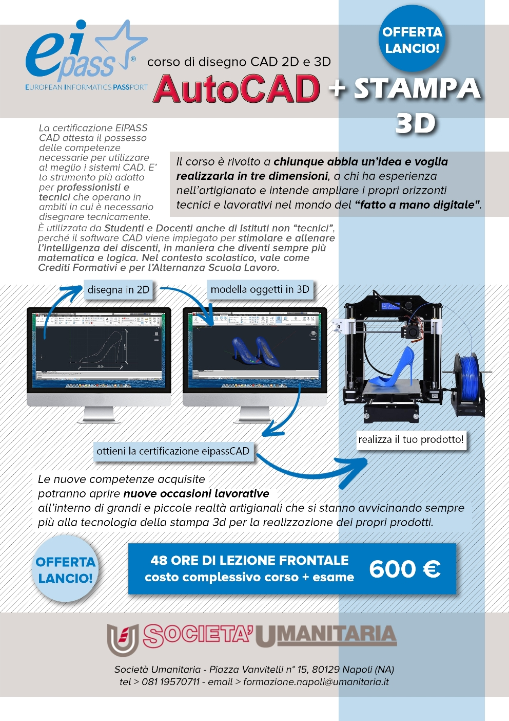 autocad stampa