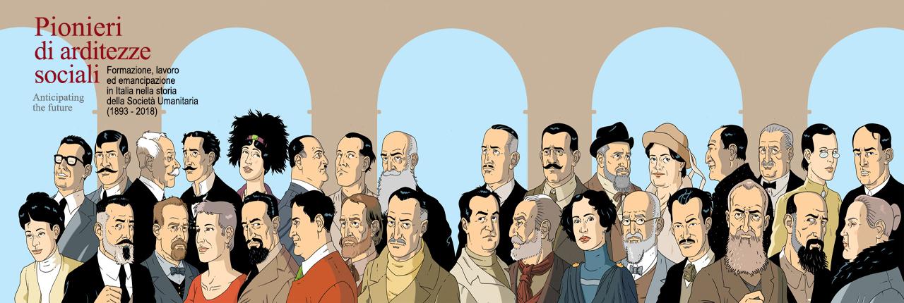 Mostra Pionieri di arditezze sociali